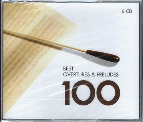 Various<br>Best Overtures & Preludes 100<br>6CD, Mono